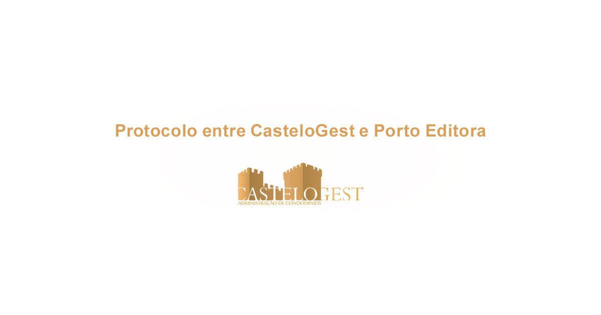 Protocolo entre CasteloGest e Porto Editorara